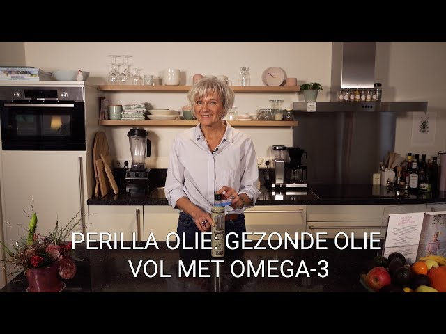 Perilla olie: gezonde olie vol met Omega-3