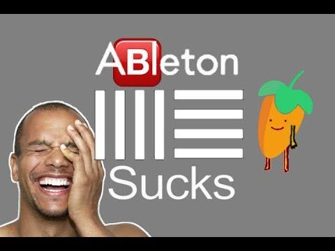 ABLETON SUCKS!! (ableton diss rap)