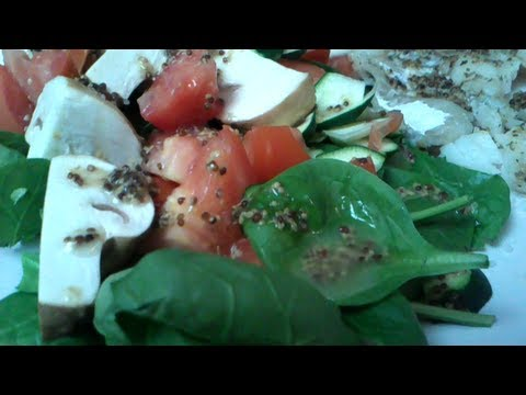 French Grain Mustard Hake Salad