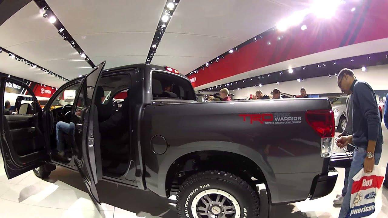 Gopro Toyota Tundra Trd Rock Warrior 2013 Detroit Auto