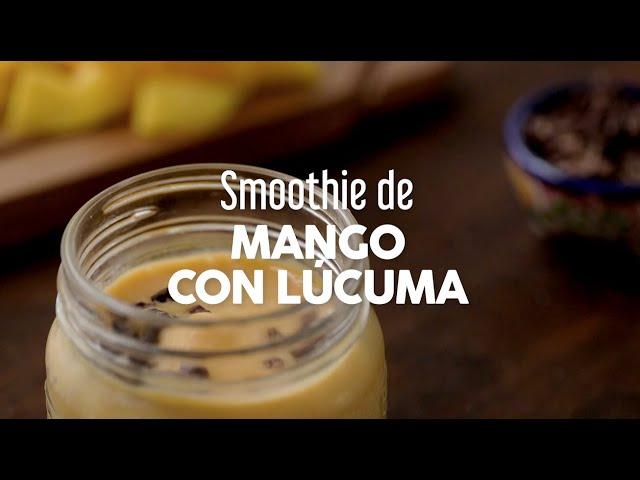 Smoothie de Mango con Lúcuma