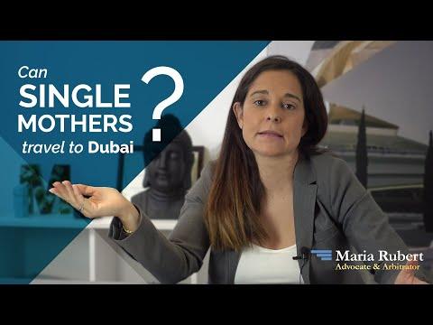 Can Single Mothers visit Dubai?