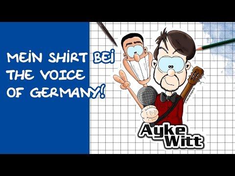 Comic zeichnen mit Tobi Wagner – THE VOICE :-) AYKE WITT