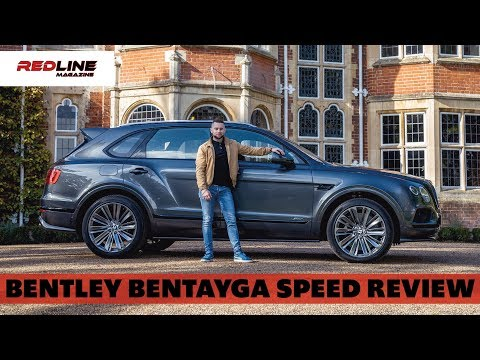 2020 Bentley Bentayga Speed Review   Driving the world's fastest SUV