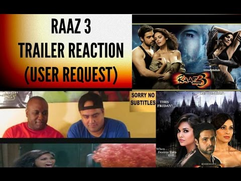 Raaz 3 Trailer Reaction (User Request) |...