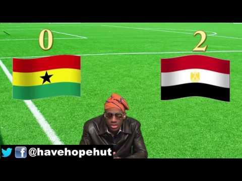 Egypt 20 Ghana Post Match Analysis  Africa World Cup Qualifier