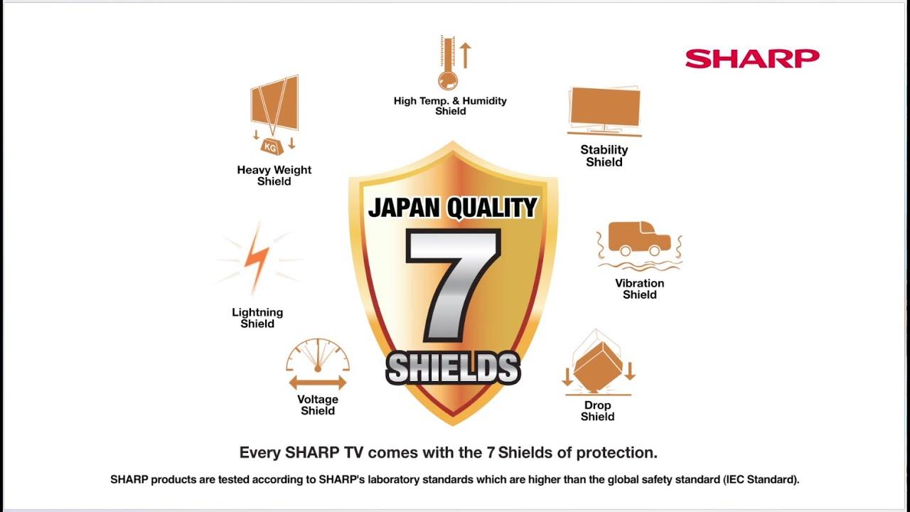 Buy SHARP 32 inch TV HD LED at best price in KSA | Xcite