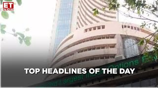 SENSEX plunges more than 1300 points;  Nifty sheds over 500 points | Top Headlines