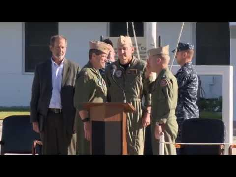AIReel:  NAWCWD Change of Command