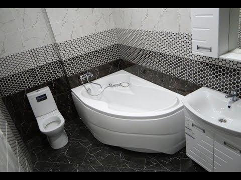 СКОЛЬКО стоит ремонт ВАННОЙ комнаты и ТУАЛЕТА под ключ цены Как сделать ремонт ванной комнаты видео