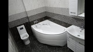 видео Как сделать недорогой ремонт ванной комнаты и санузла