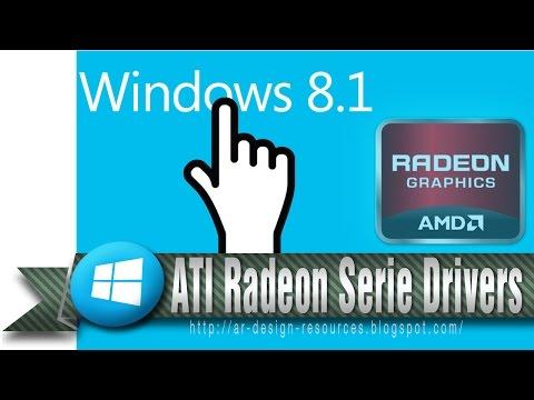How to Install ATI Radeon HD series drivers with OpenGL in Windows8/8.1