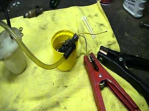 Backyard mechanic diy fuel injector cleaning youtube backyard mechanic diy fuel injector cleaning solutioingenieria Gallery