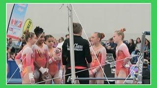 level 9 gymnastics meet   myrtle beach cup   flippin katie