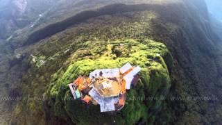 Aerial View of Sri Pada (Adam