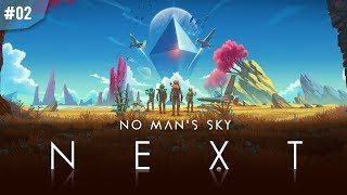 No Man's Sky #02   UCIECZKA Z PLANETY!