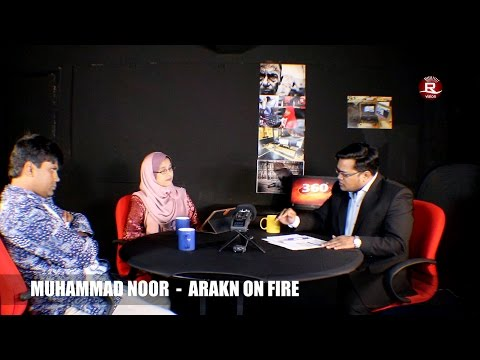 DR. Mahbubul Haque and DR. Rohaida With MD NOOR on Rohingya issues