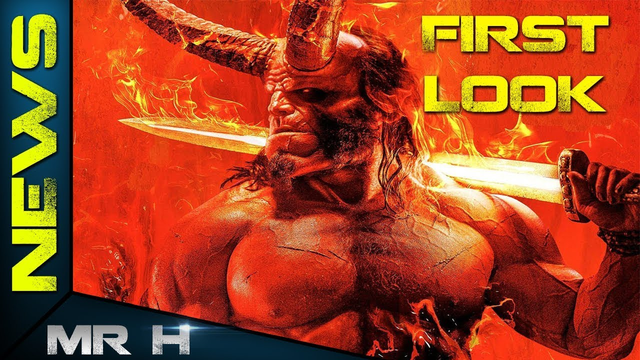 Movie Poster 2019: FIRST LOOK At David Harbour Hellboy 2019 NEW Poster