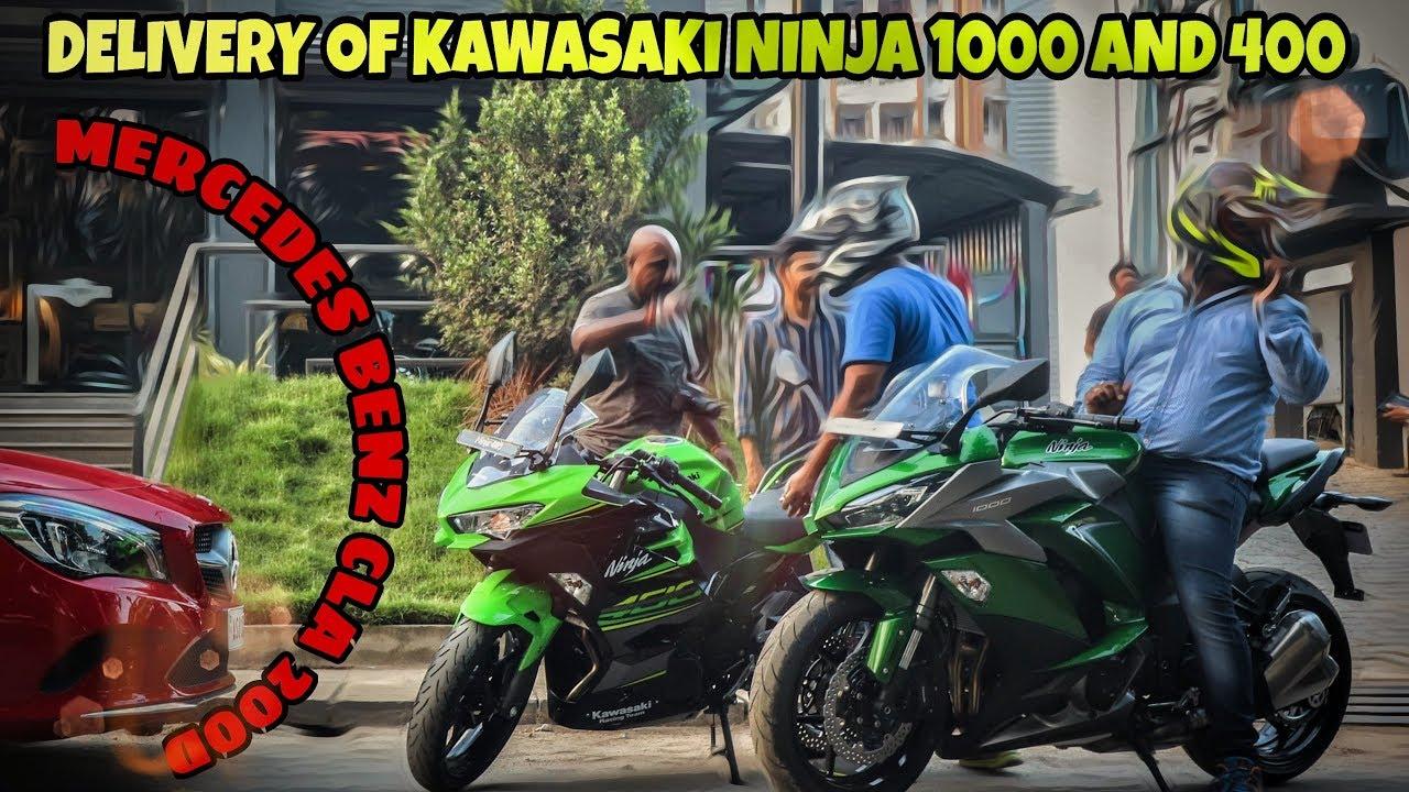 Kawasaki Ninja 1000 Delivery Guwahati Vlog 32 Youtube