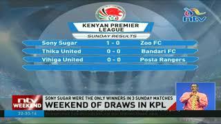 Kenya Premiere League weekend results