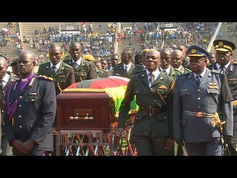 State funeral for Mugabe is a final goodbye
