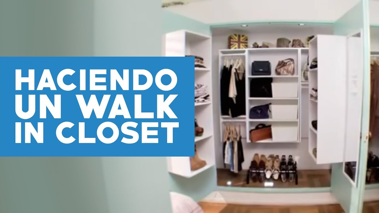 C mo transformar un closet en walk in closet doovi - Como decorar un placard ...
