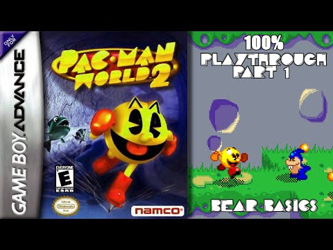 Pac-Man World 2 GBA 100% Playthrough - Part 1