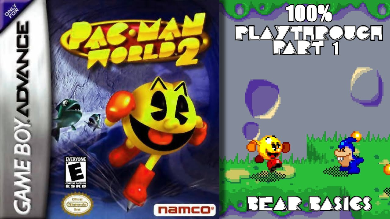 Pac-Man World 2 GBA 100% Playthrough - Part 1