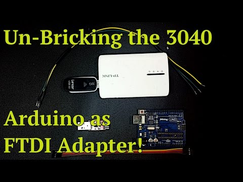 Howto on Fixing Bricked MR3040
