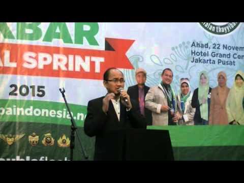 Sambutan Agung Yulianto Training Akbar Final Sprint 2015