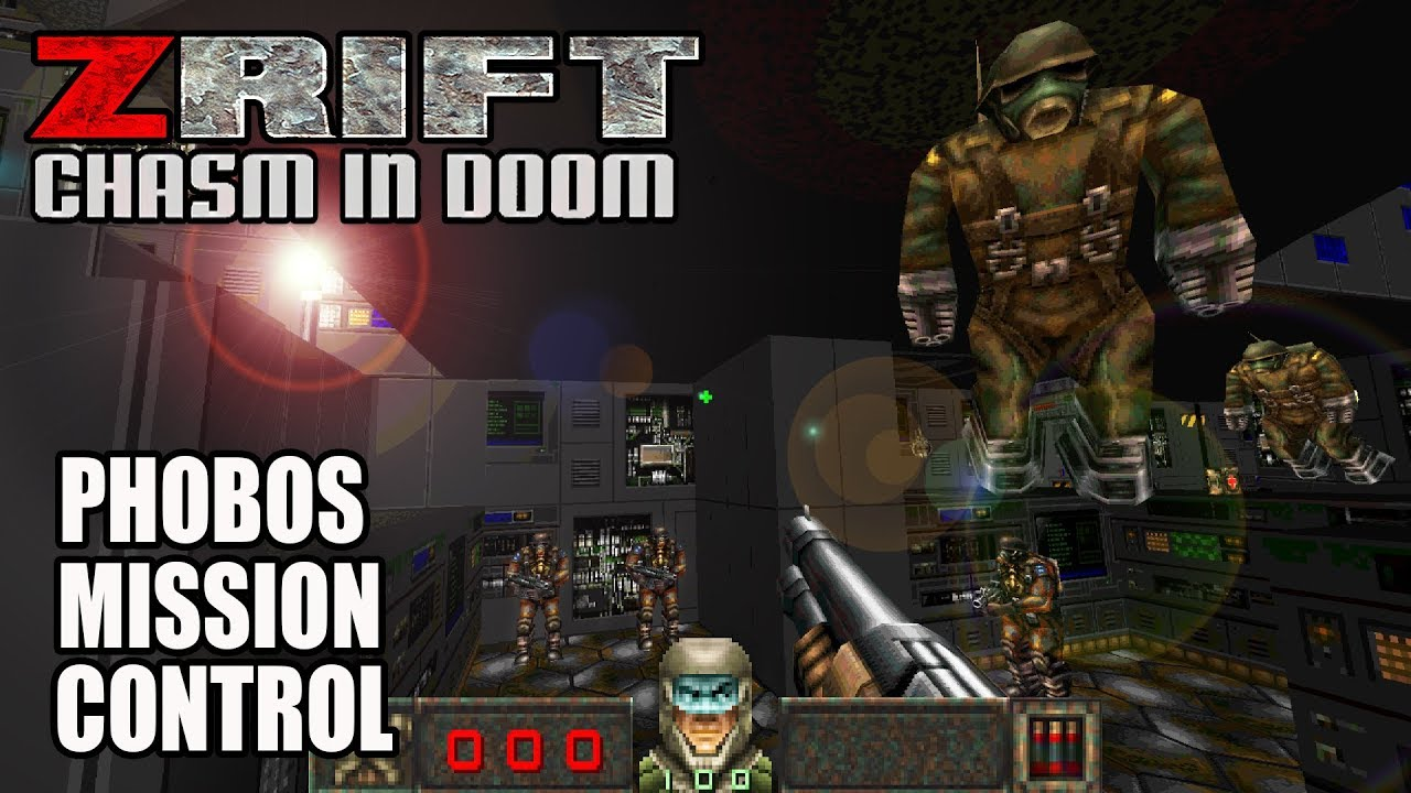 ZRift: Chasm in Doom - Romero's Phobos Mission Control
