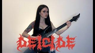 Deicide - Homage For Satan (guitar cover)