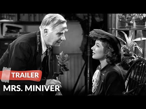 Mrs. Miniver 1942 Trailer HD | Greer Garson | Walter Pidgeon