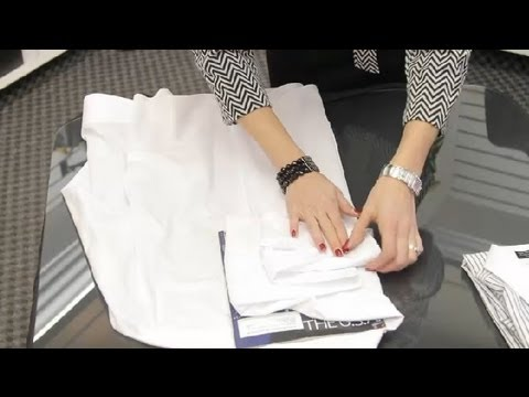 How Do I Fold Dress Shirts? : Packing Tips for Travel - YouTube
