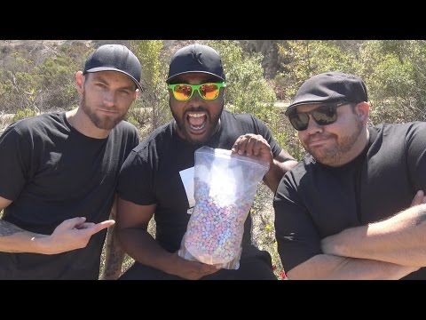1lb Lucky Charms Marshmallow Cereal Challenge *Vomit Alert*
