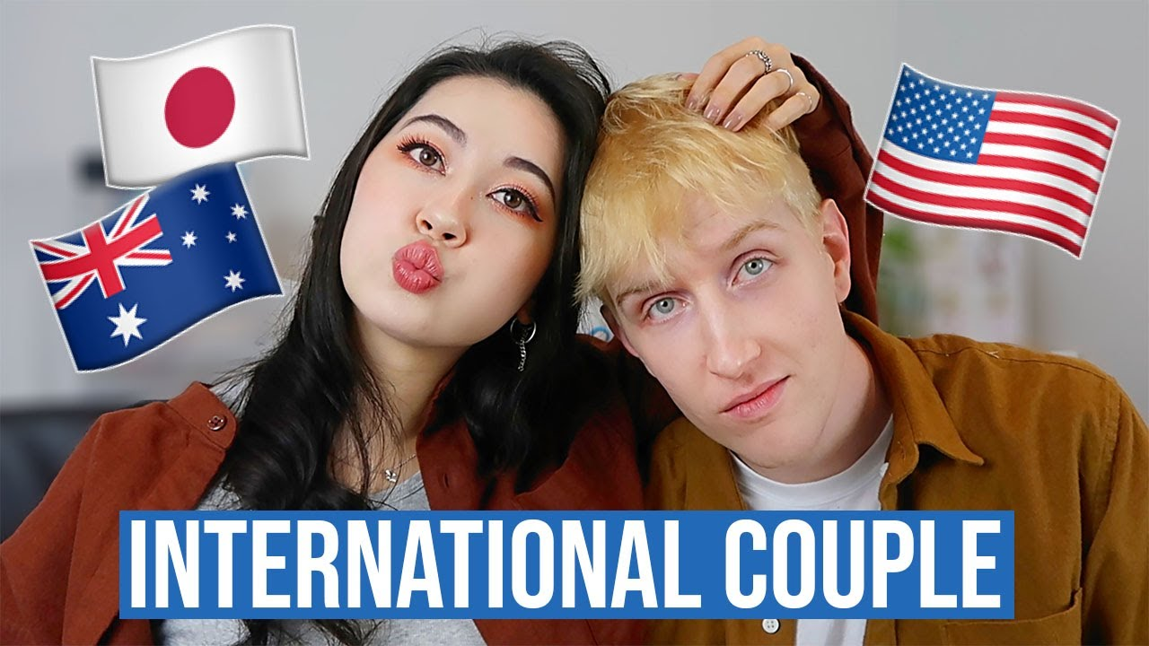 JPN x AUS x USA International Couple 🇯🇵🇦🇺🇺🇸 How we met + 4 YEARS Long Distance!
