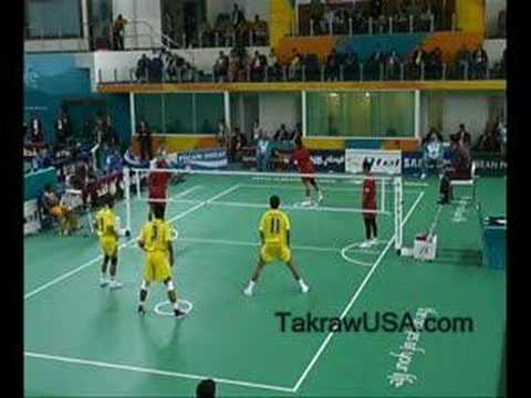 Sepaktakraw Malaysia Vs Thailand 15th Asian Games