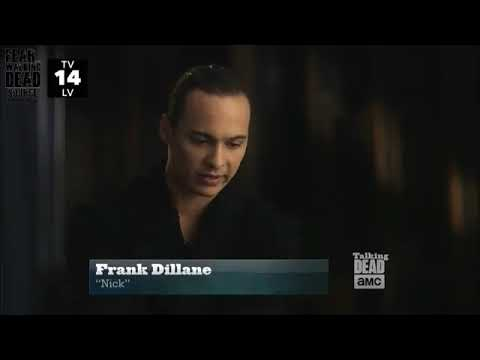 Frank Dillane farewell to the cast feartwd