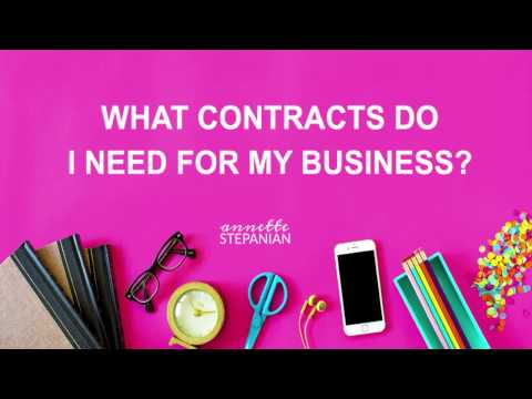 What Contracts Do I Need for My Business?