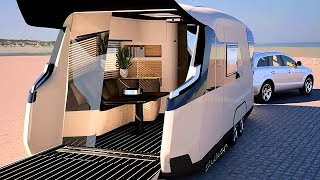 AWESOME AND INNOVATIVE CAMPERS YOU WOULD LIKE TO HAVE