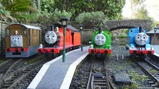 Thomas the Tank Engine and His Friends Discuss G Scale