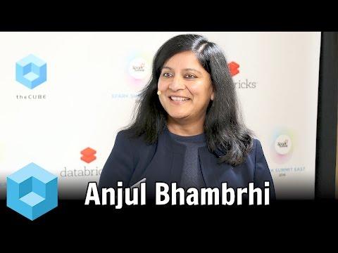 Anjul Bhambhri – Spark Summit East 2016 – #SparkSummit – theCUBE