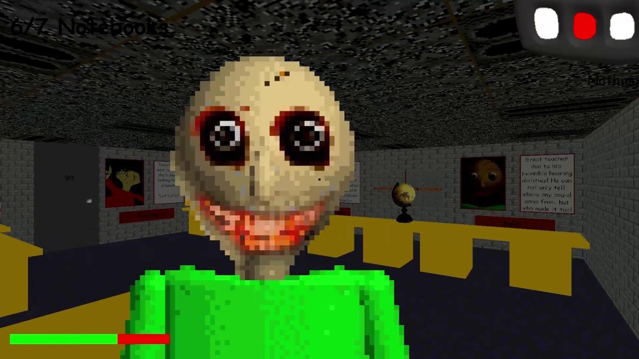baldi's basics roblox games