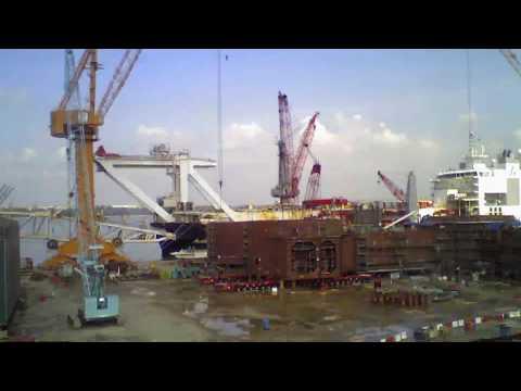Construction Execution   Hull Timelapse   Deepwater MLK