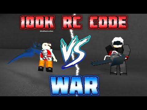 [100K RC CODE] Huge Takizawa Kagune vs Chainsaw Quinque War in Ro-Ghoul!   Roblox