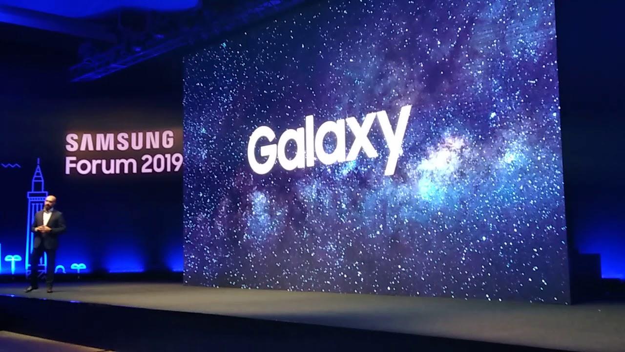 سامسونج تستعرض إمكانيات هاتفي galaxy fold و galaxy s10