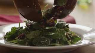 How To Make Cranberry Spinach Salad