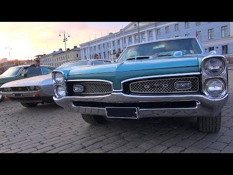 Helsinki Cruising Night 4/2016 - Winter is over, Muscle Cars are back!
