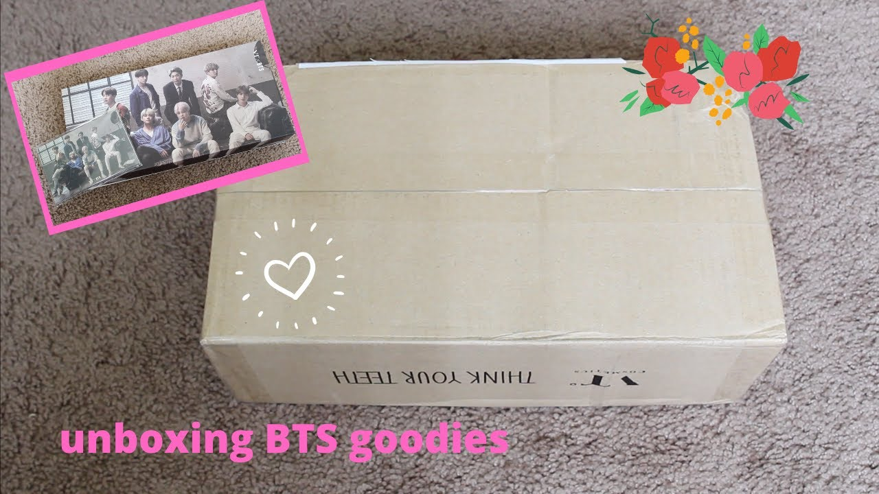 (Unboxing) A special BTS package // ASMR & a fun little quiz