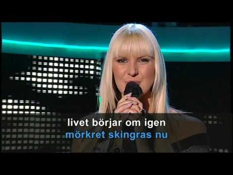 Melodifestivalen 2007 - Sanna Nielsen - Vågar Du, Vågar Jag